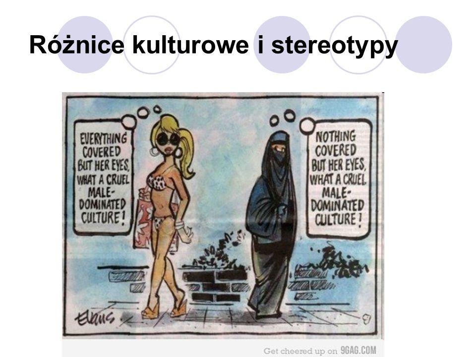 Różnice kulturowe i stereotypy