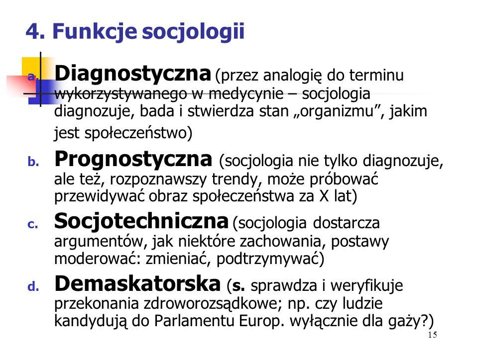 5.Podstawowe orientacje teoretyczne we współczesnej socjologii a.