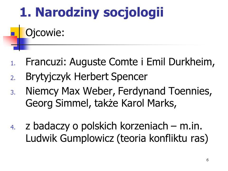 2.Definicja: a. Nauka o społeczeństwie (najkrócej) b.