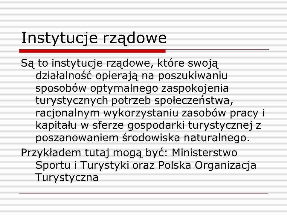 Strategia międzynarodowego marketingu turystyki dla Polski 19962000.