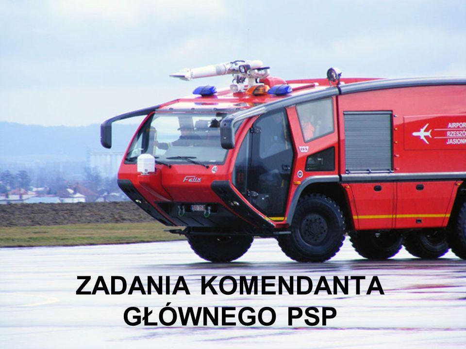 Komendanta Głównego Państwowej Straży Pożarnej powołuje spośród oficerów Państwowej Straży Pożarnej i odwołuje Prezes Rady Ministrów, na wniosek minis