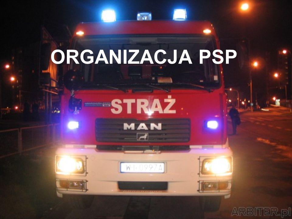 ZADANIA KOMENDANTA WOJEWÓDZKIEGO PSP