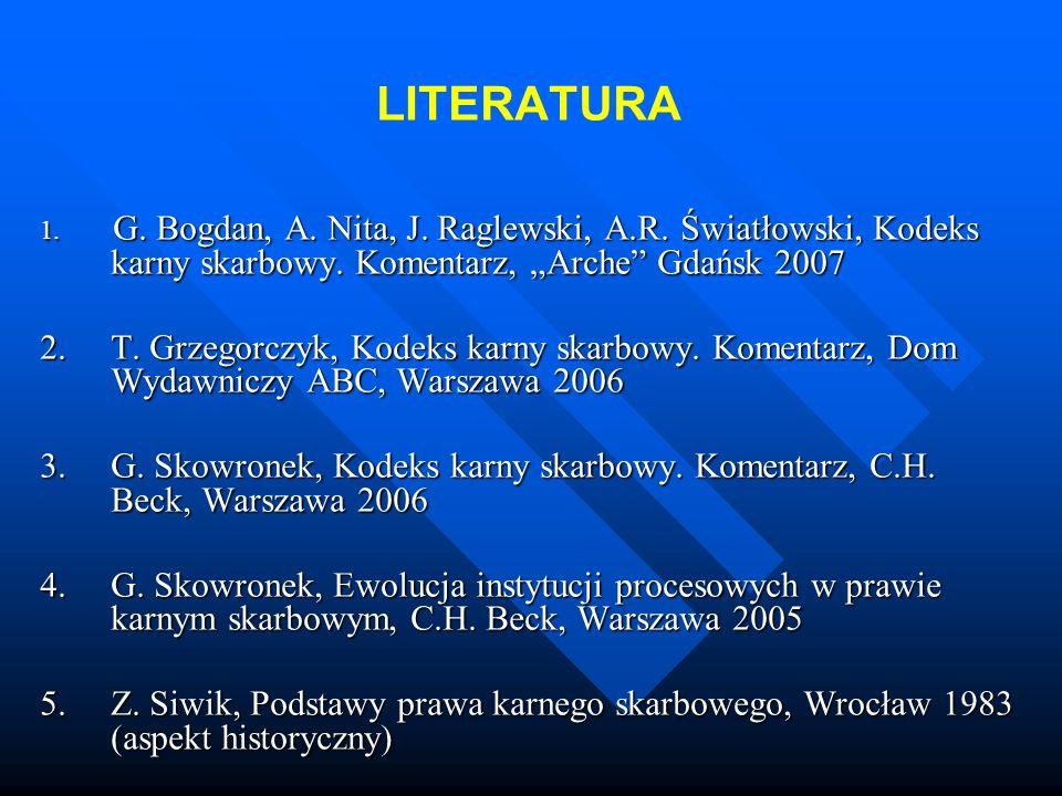 LITERATURA 1.G. Bogdan, A. Nita, J. Raglewski, A.R.