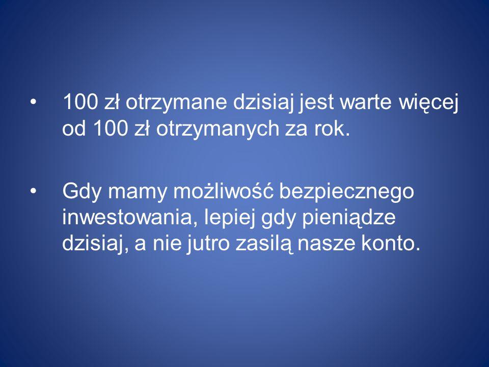 Kredyt kupiecki 2/20 netto 80 - kwota 1 000 zł Alternatywy: a)Przypuśćmy, że mamy 980 zł.
