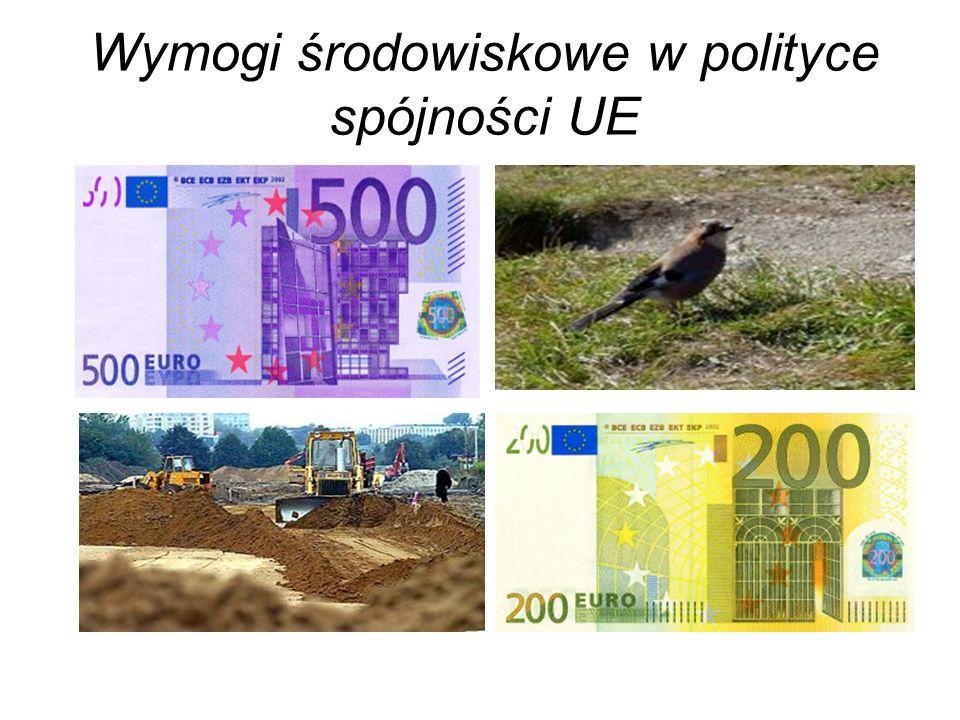 Wymogi środowiskowe w polityce spójności UE