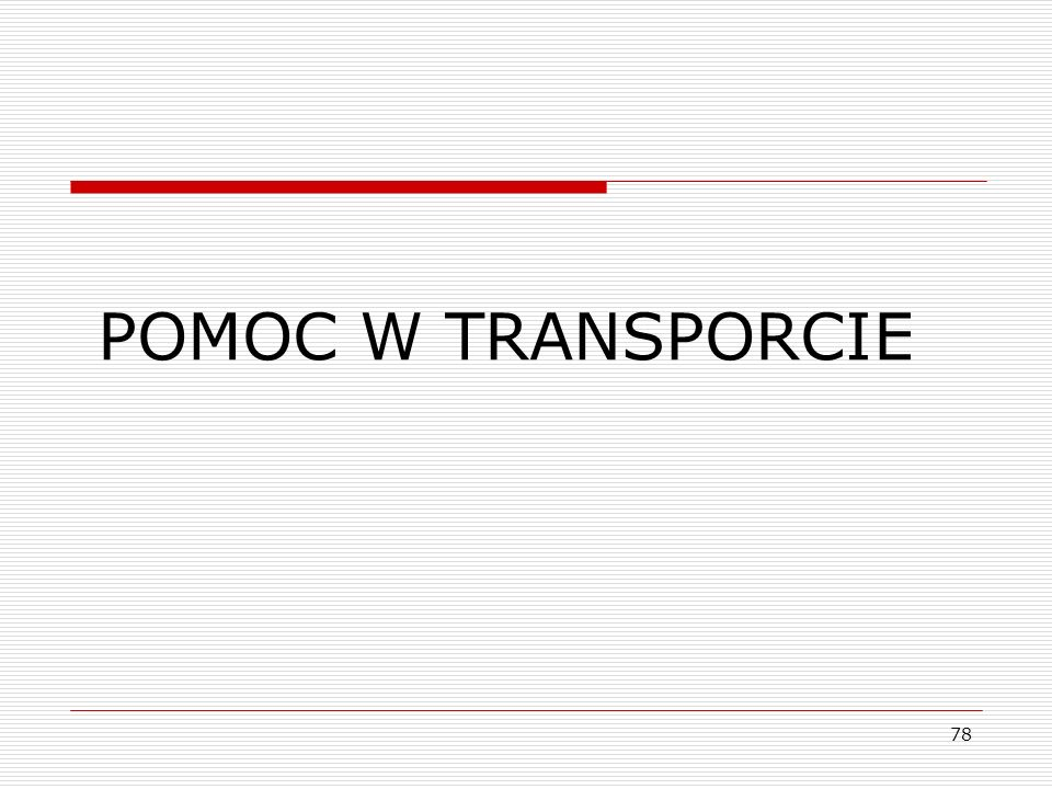 78 POMOC W TRANSPORCIE