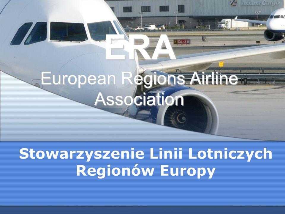 ERA European Regions Airline Association Stowarzyszenie Linii Lotniczych Regionów Europy