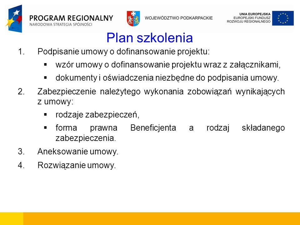 Dokumenty i oświadczenia niezbędne do podpisania umowy 11.Zaświadczenie o niezaleganiu w opłacaniu składek ZUS (w 2 egz., wydane nie wcześniej niż 3 m-ce przed datą spodziewanego podpisania umowy o dofinansowanie).