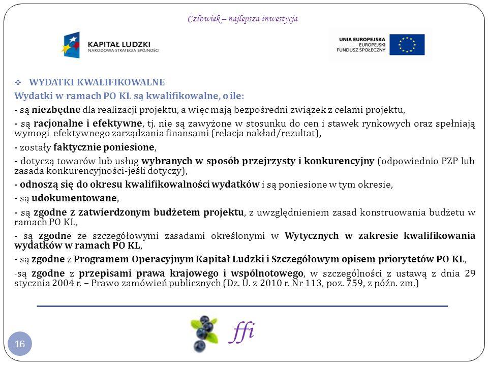 47 Fundacja Fundusz Inicjatyw www.ffi.org.pl Dziękuję za uwagę Katarzyna Ciepłowska