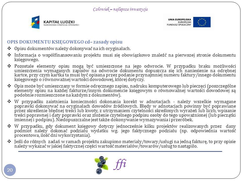 31 WAŻNE PRZY ZATRUDNIANIU PERSONELU DO PROJEKTU: Przestrzeganie przepisów prawa krajowego (tj.