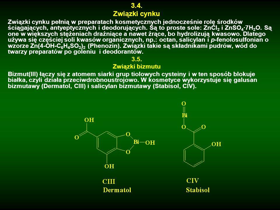 Zastosowanie chlorku bizmutu(III) BiCl 3 jest ciekawe.