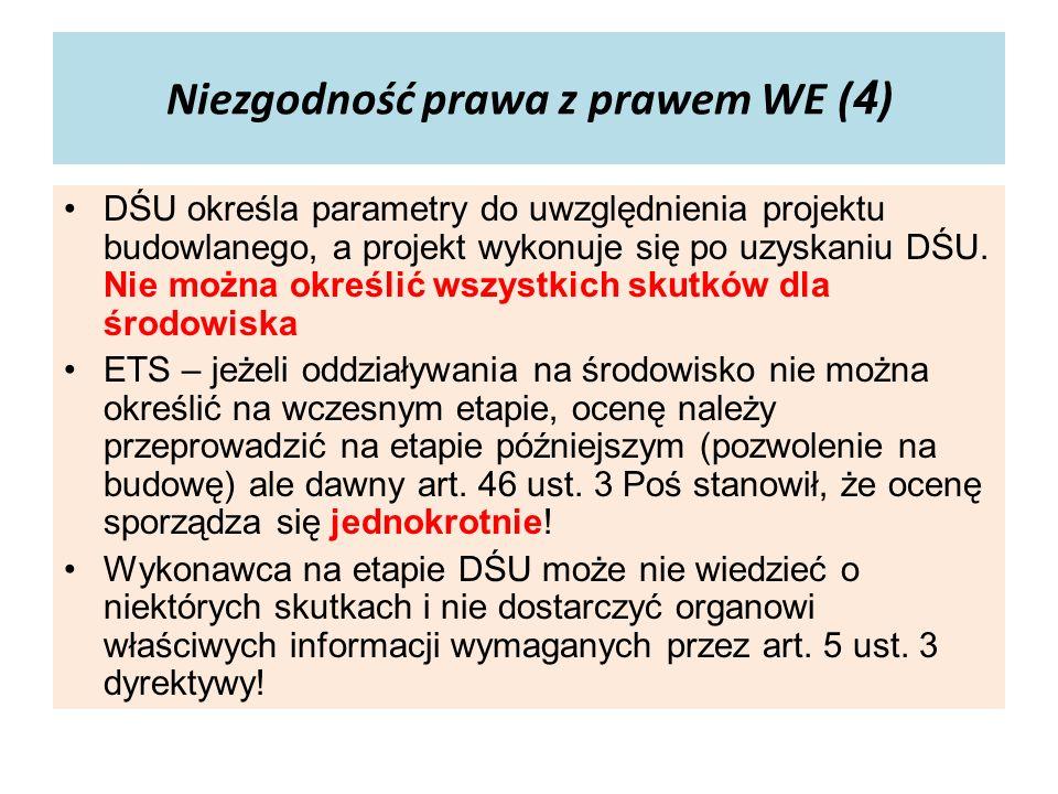 Ponowna ocena (3) – przebieg postępowania Organ wł.