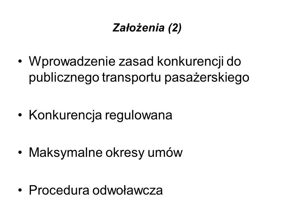 Skutki nowych rozwiązań Skutek 1: Zawarcie umowy o świadczenie usług obowiązkiem w transporcie publicznym Wyjątek: usługi regulowane za pomocą taryf lecz bez przyznawania praw wyłącznych.