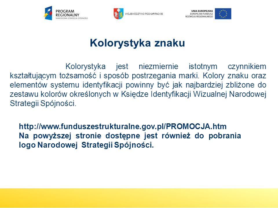 http://www.funduszestrukturalne.gov.pl/PROMOCJA.htm Na powyższej stronie dostępne jest również do pobrania logo Narodowej Strategii Spójności. Kolorys