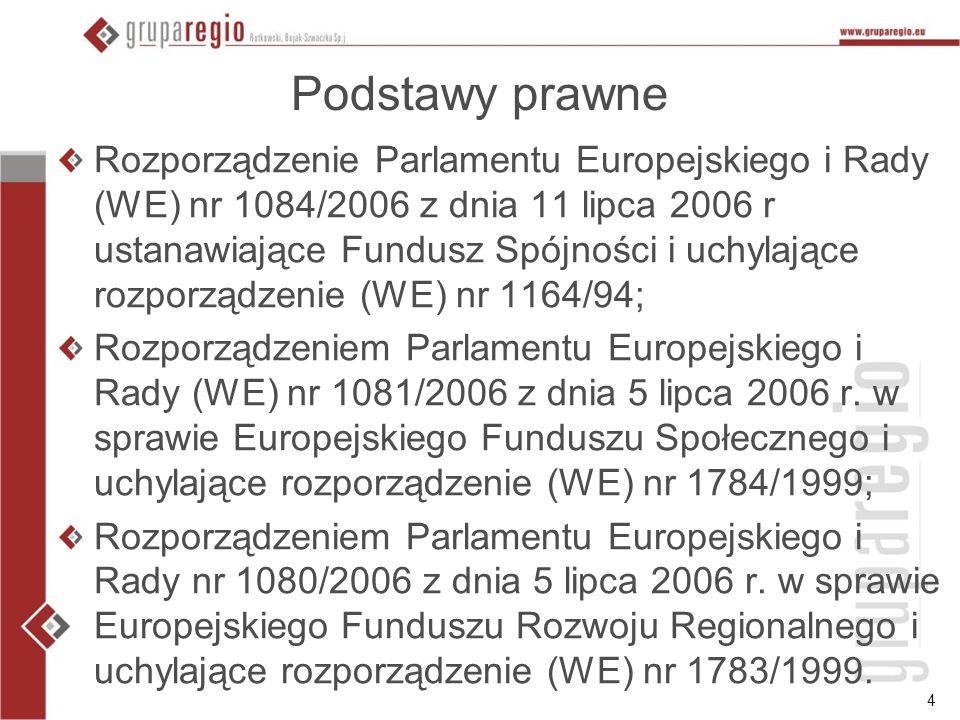 5 Dokumenty w Internecie http://www.mrr.gov.pl/ http://www.wrota.podkarpackie.pl/pl/rpo/vade mecum