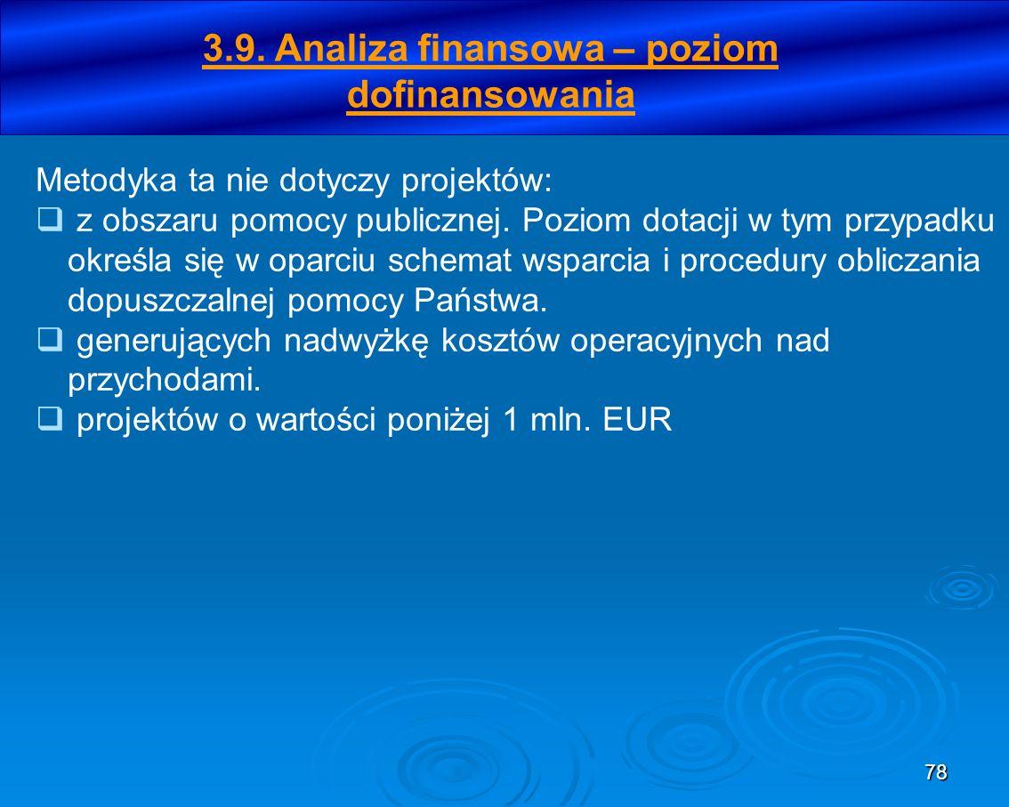 79 Etapy określania dotacji UE w okresie programowania 2007- 2013 Krok 1.