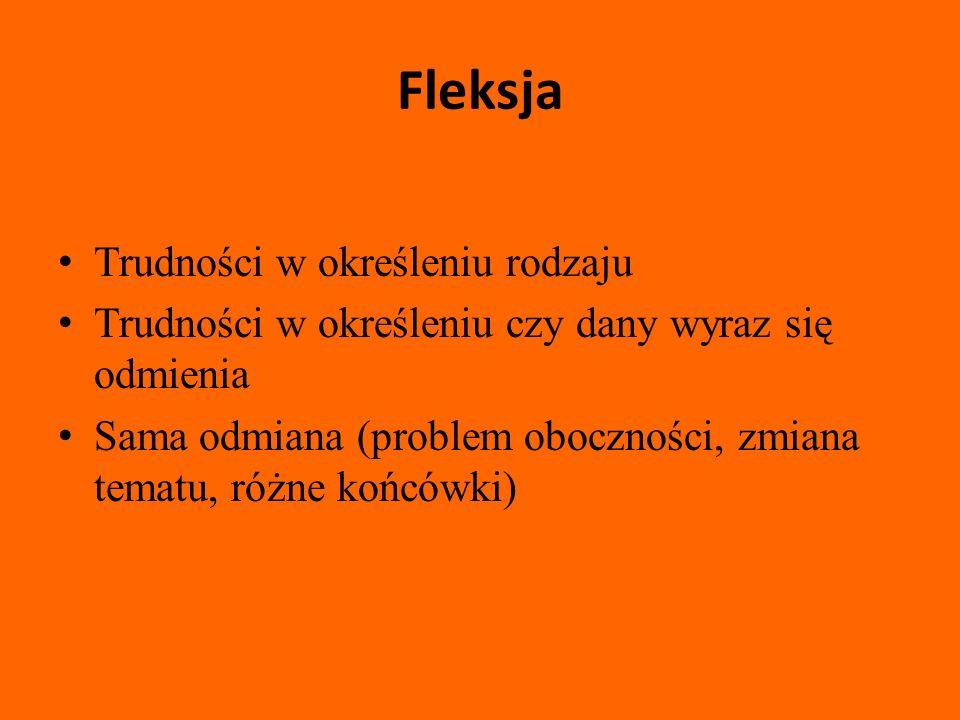 Związki frazeologiczne Zw.