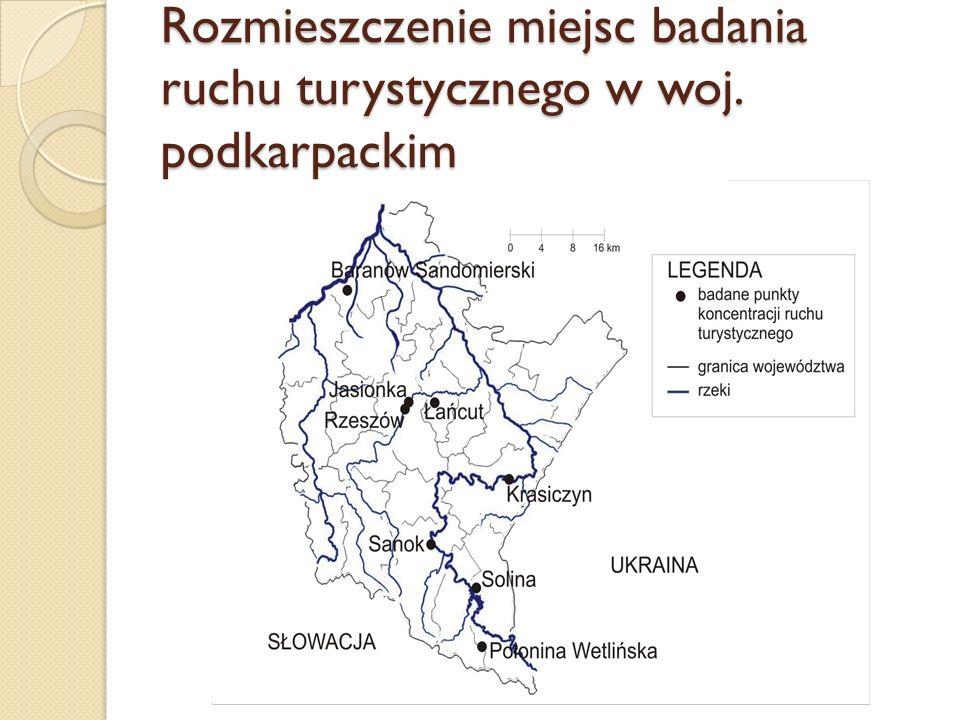 Miejsce zamieszkania Polaków odwiedzających atrakcje turystyczne woj.
