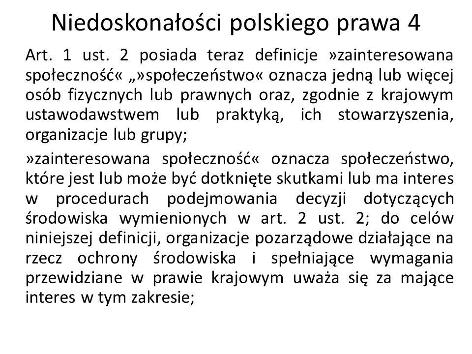 Niedoskonałości polskiego prawa 5 Art.6 ust.