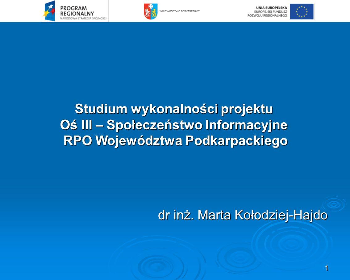 72 Wskaźniki oceny efektywności finansowej projektów: dyskontowe (NPV, IRR). 3.9. Analiza finansowa