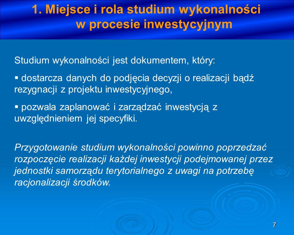 88 Podsumowując: –Beneficjent musi ponieść 15% wydatków kwalifikowanych (czyli luki finansowej) oraz 100% wydatków wykraczających poza lukę Przykład: Wartość projektu: 6 mln PLN Stopa luki finansowej 75% Wydatki kwalifikowane 5,2 mln PLN, wydatki niekwalifikowane 0,8 mln PLN Stopa dofinansowania priorytetu/działania: 85% DA = 5,2 mln PLN x 75% = 3,9 mln PLN Dotacja UE = 3,9 mln PLN x 85% = 3,32 mln PLN 3.9.