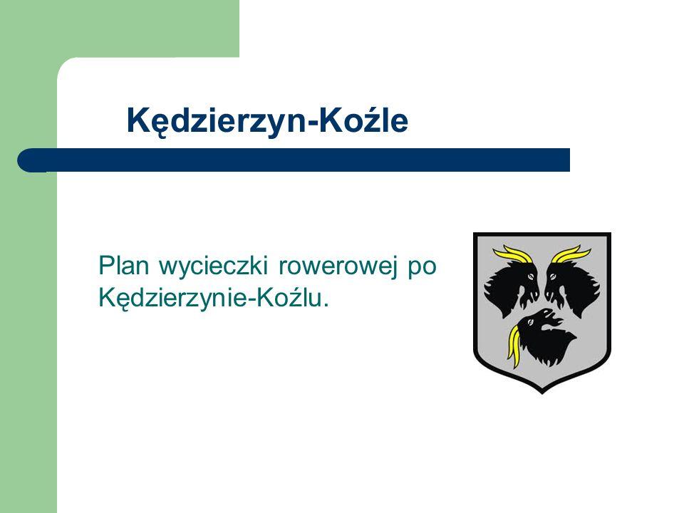 Kędzierzyn-Koźle Plan wycieczki rowerowej po Kędzierzynie-Koźlu.