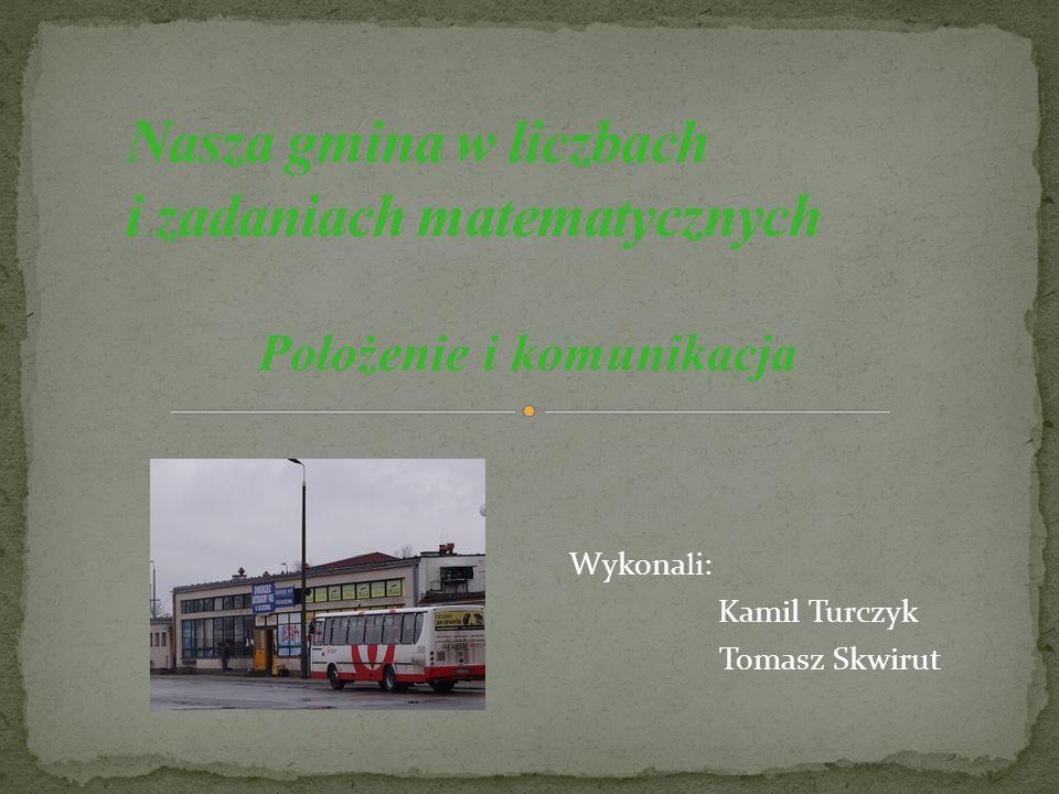 Strona tytułowa Spis slajdów Odległości miast od Kolbuszowej Diagram słupkowy Zadanie 1.