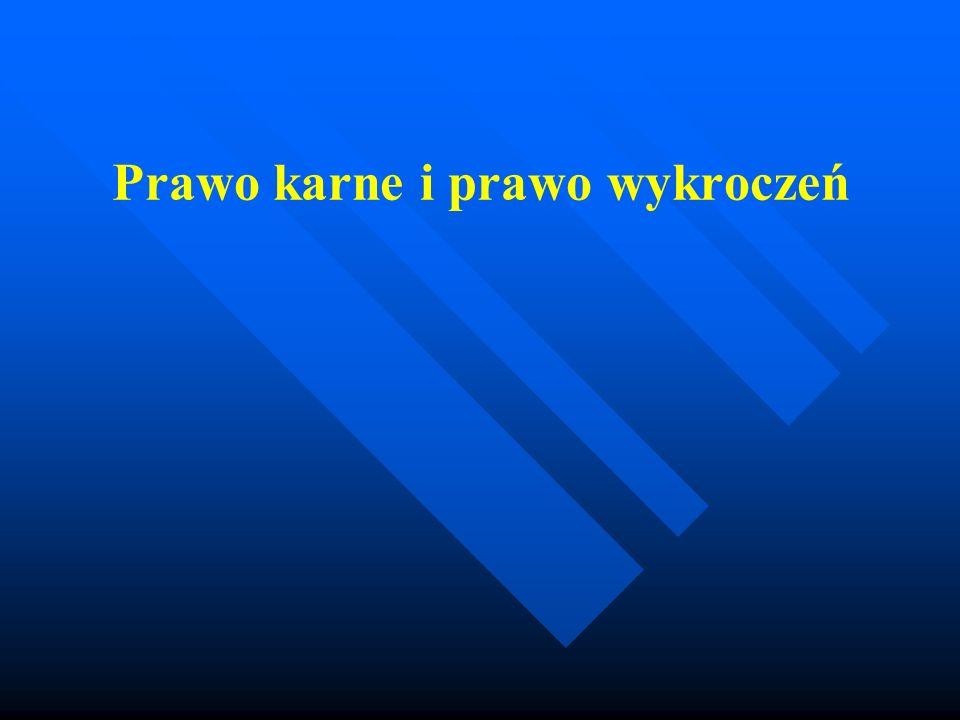 Zarys historii prawa karnego Polskie kodyfikacje prawa karnego : 1928 KPK, 1932 KK, 1969 KK, KPK, KKW 6 czerwiec 1997 KK, KPK, KKW