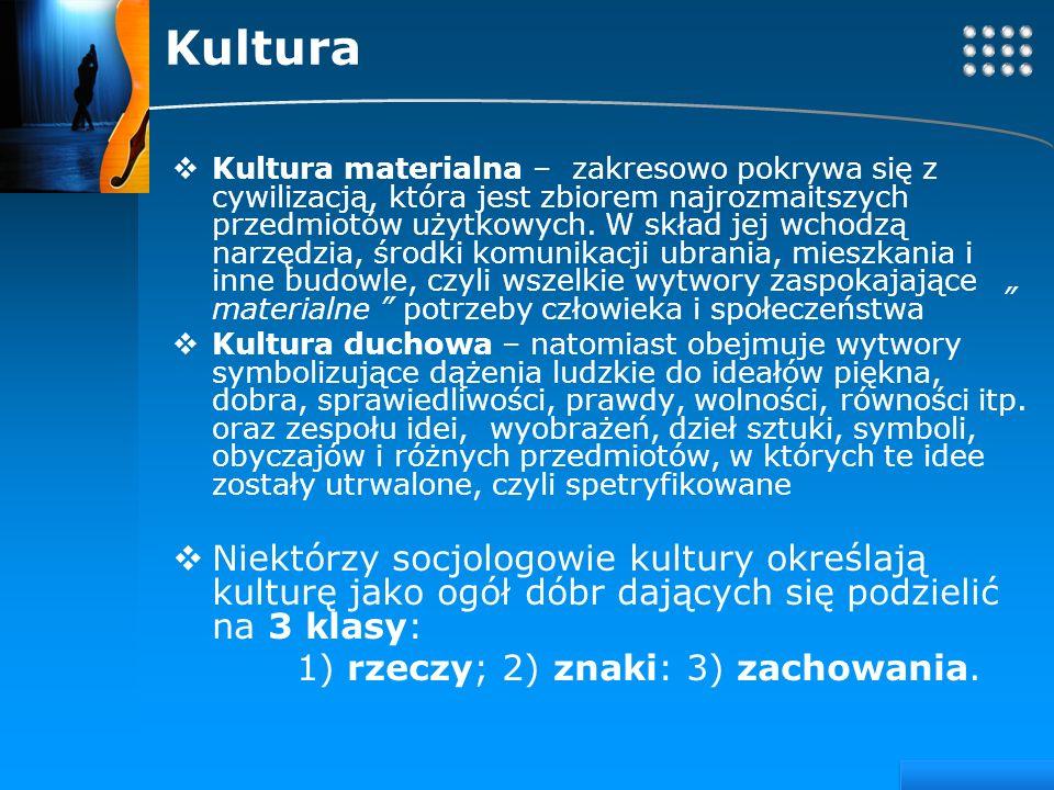 Your site here LOGO Kultura Kultura materialna – zakresowo pokrywa się z cywilizacją, która jest zbiorem najrozmaitszych przedmiotów użytkowych. W skł