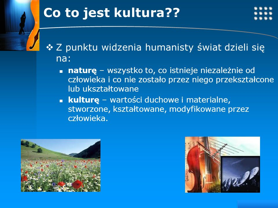 Your site here LOGO Co to jest kultura??
