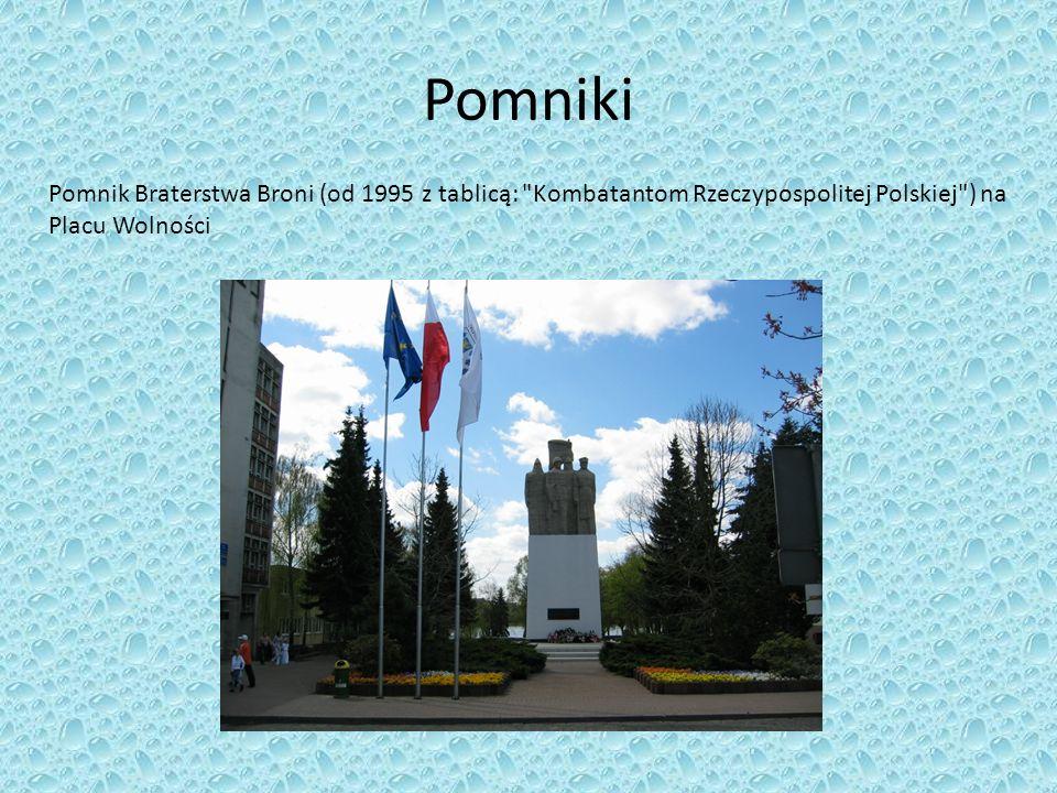 Pomniki Pomnik Braterstwa Broni (od 1995 z tablicą: