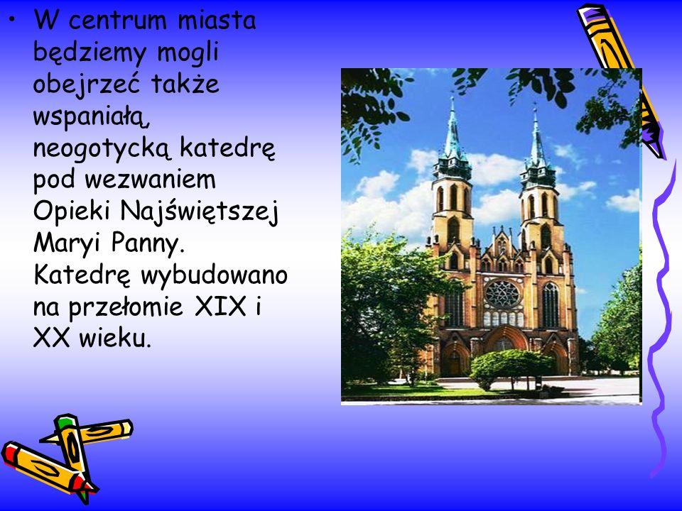 W centrum miasta będziemy mogli obejrzeć także wspaniałą, neogotycką katedrę pod wezwaniem Opieki Najświętszej Maryi Panny. Katedrę wybudowano na prze