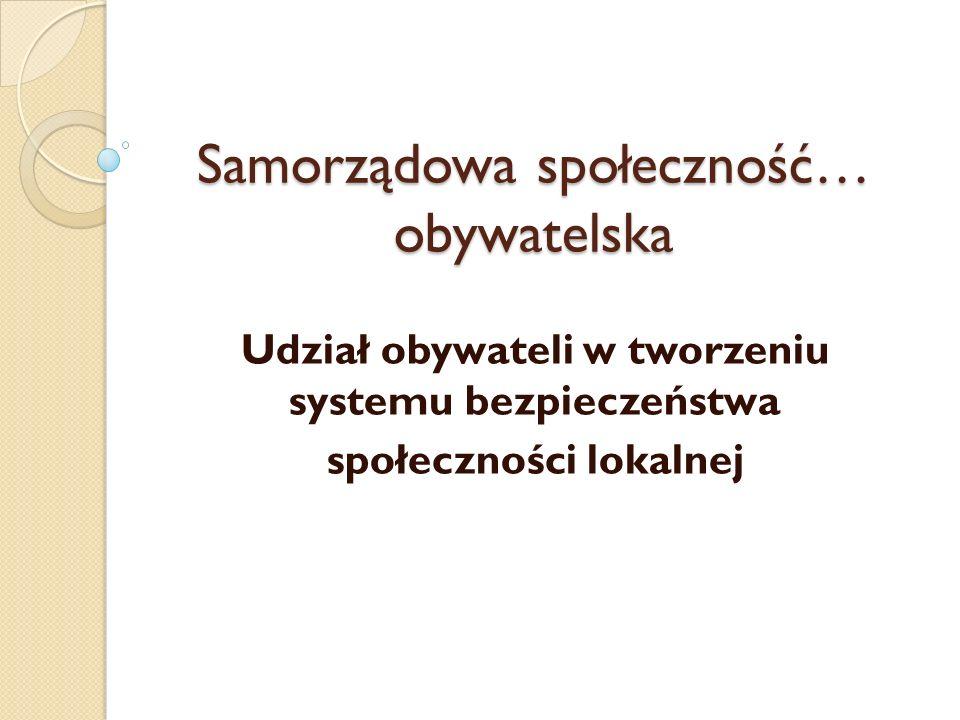 Społeczeństwo obywatelskie Społeczeństwo obywatelskie to ogół niepaństwowych instytucji, organizacji i stowarzyszeń cywilnych działających w sferze publicznej.