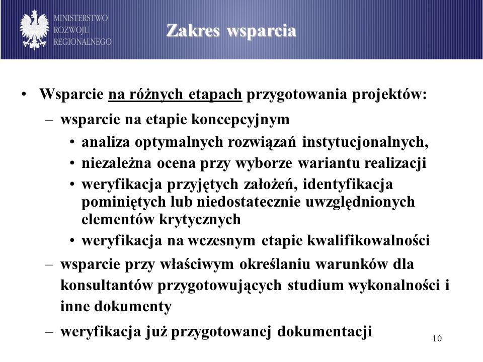 11 Podział środków dostępnych w ramach PO Infrastruktura i Środowisko wg sektorów (w mln euro) Zasady działania i wybór projektów Co roku Polska uzgadnia z JASPERS i KE plan działań na dany rok, wskazujący projekty do wsparcia –projekty, dla których wsparcie nie zostało skończone w danym roku, kontynuowane są w roku następnym, –przy tworzeniu planu bierze się pod uwagę ograniczone zasoby w ramach JASPERS, –w uzasadnionych przypadkach jest możliwość uzupełnienia planu działań w trakcie roku, –w planie działań wskazany jest także zakres wsparcia dla poszczególnych projektów