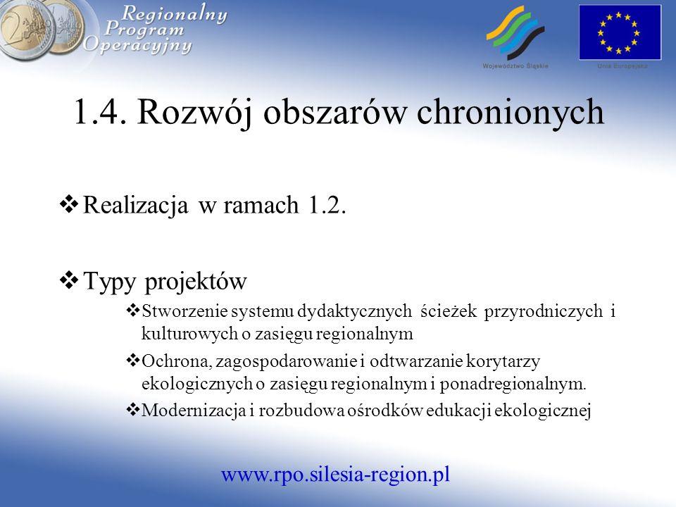 www.rpo.silesia-region.pl Realizacja w ramach 1.2.