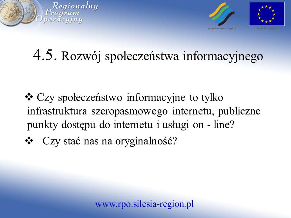 www.rpo.silesia-region.pl 4.5.