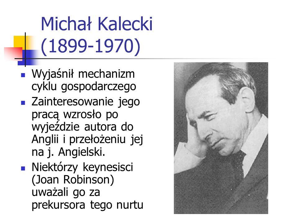 Edward Lipiński 1888-1986 Ekonomista, historyk myśli ekonomicznej, działacz społeczny. Studiował w Lipsku i Zurychu. Pracował jako urzędnik bankowy, n