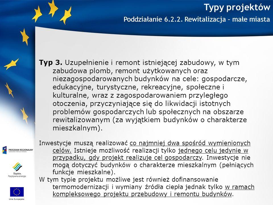 Typy projektów Typ 3.
