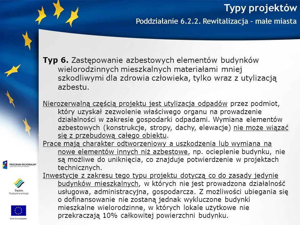 Typy projektów Typ 6.