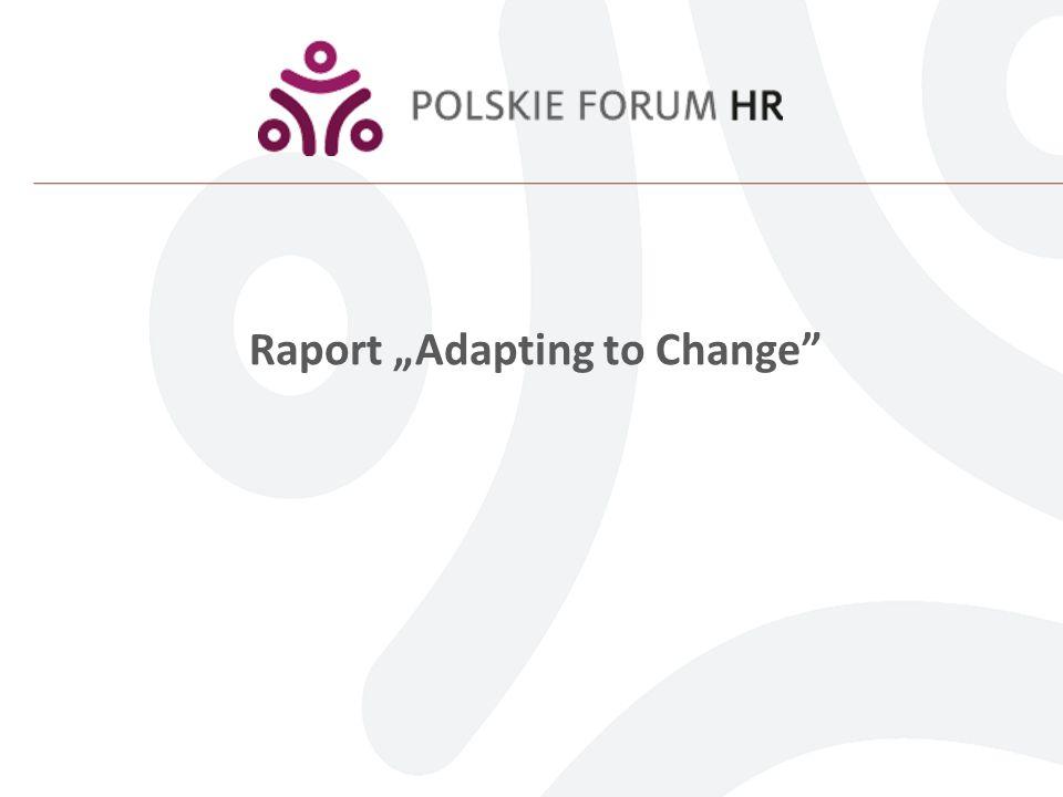 Raport Adapting to Change