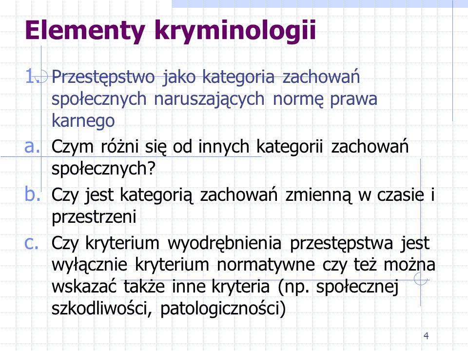 14 Związek kryminalistyki z socjologią 13.Przejawia się m.in.