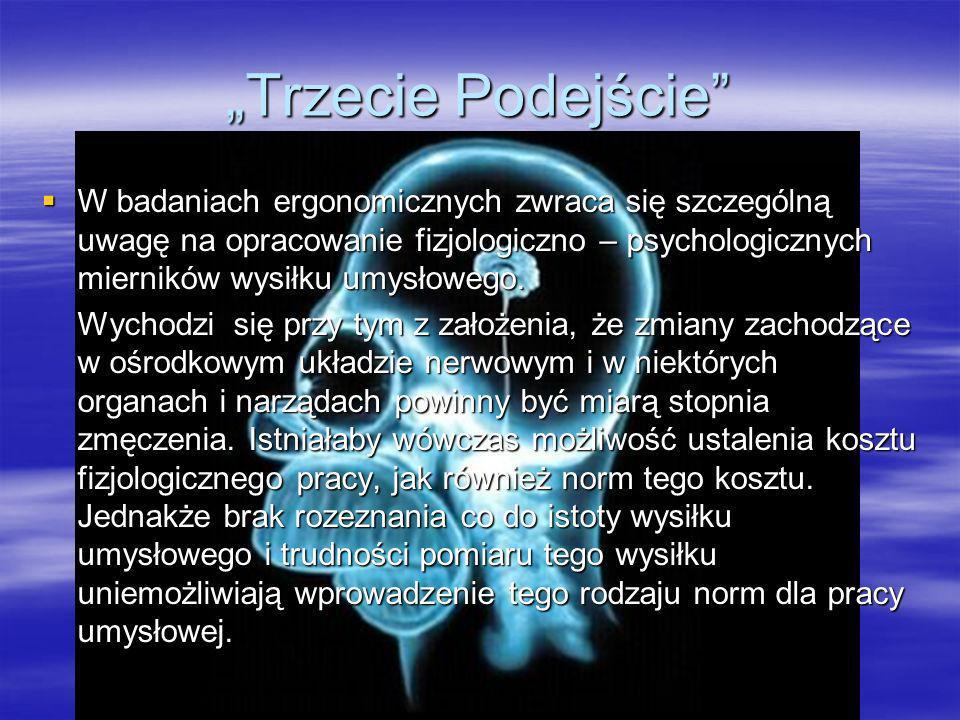 Metod badawczych w podejściu fizjologiczno – psychologicznym Pierwsza metoda polega na badaniu aktywności elektrycznej kory mózgowej.
