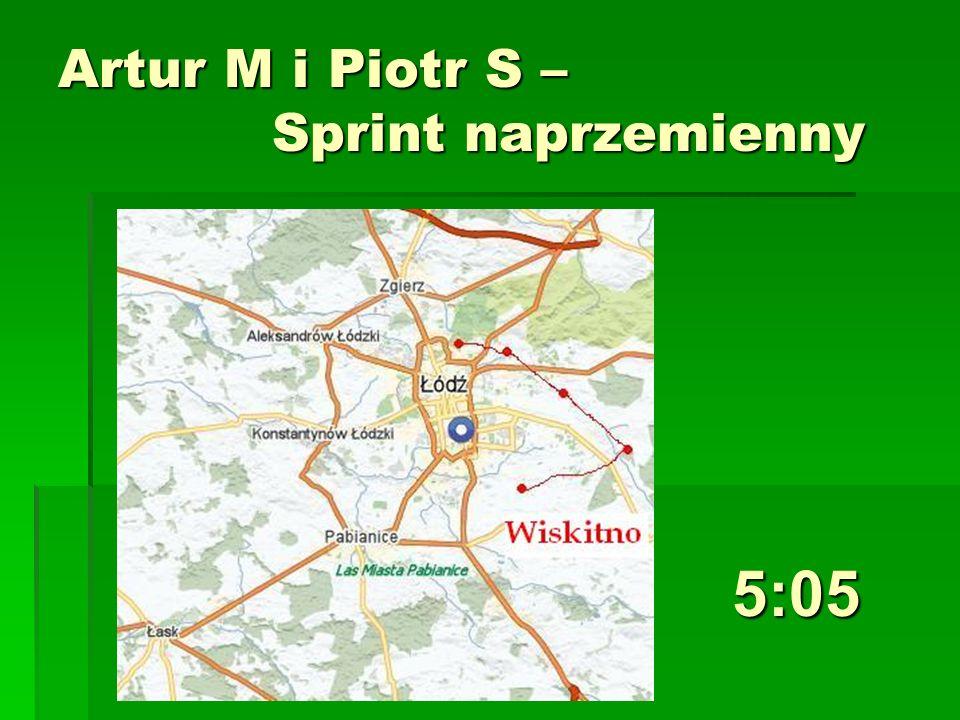 Artur M i Piotr S – Sprint naprzemienny 5:05