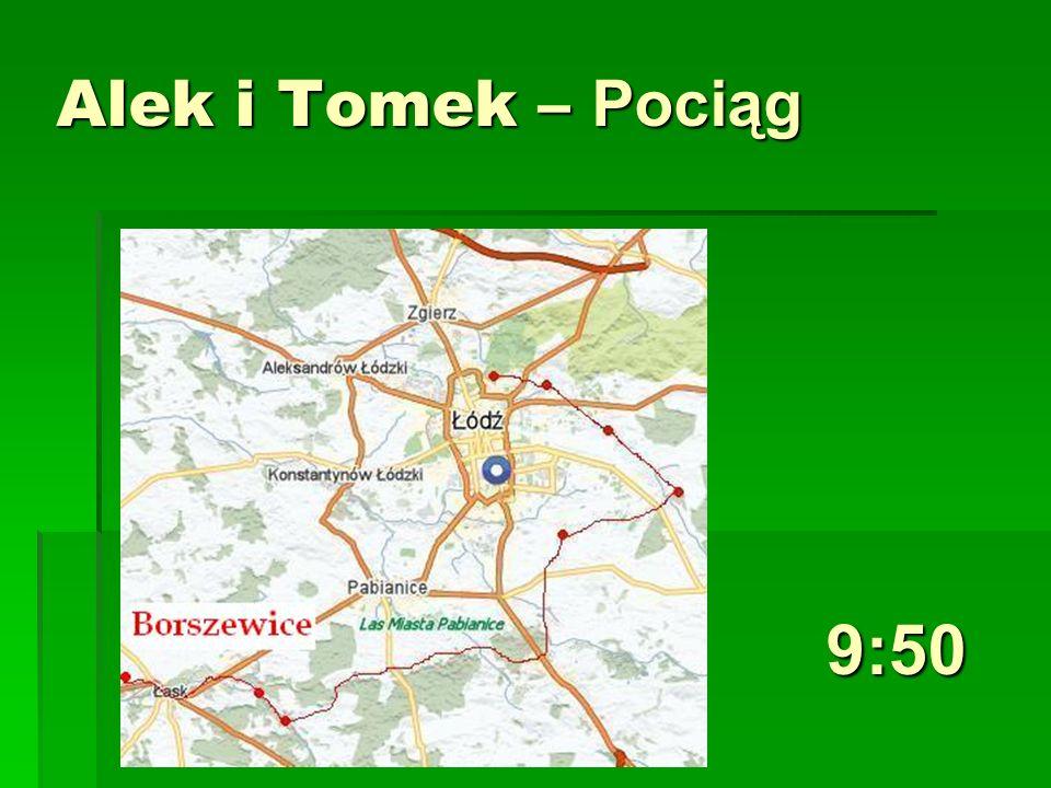 Alek i Tomek – Pociąg 9:50