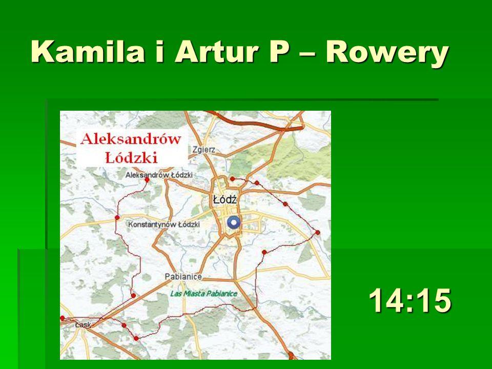 Kamila i Artur P – Rowery 14:15