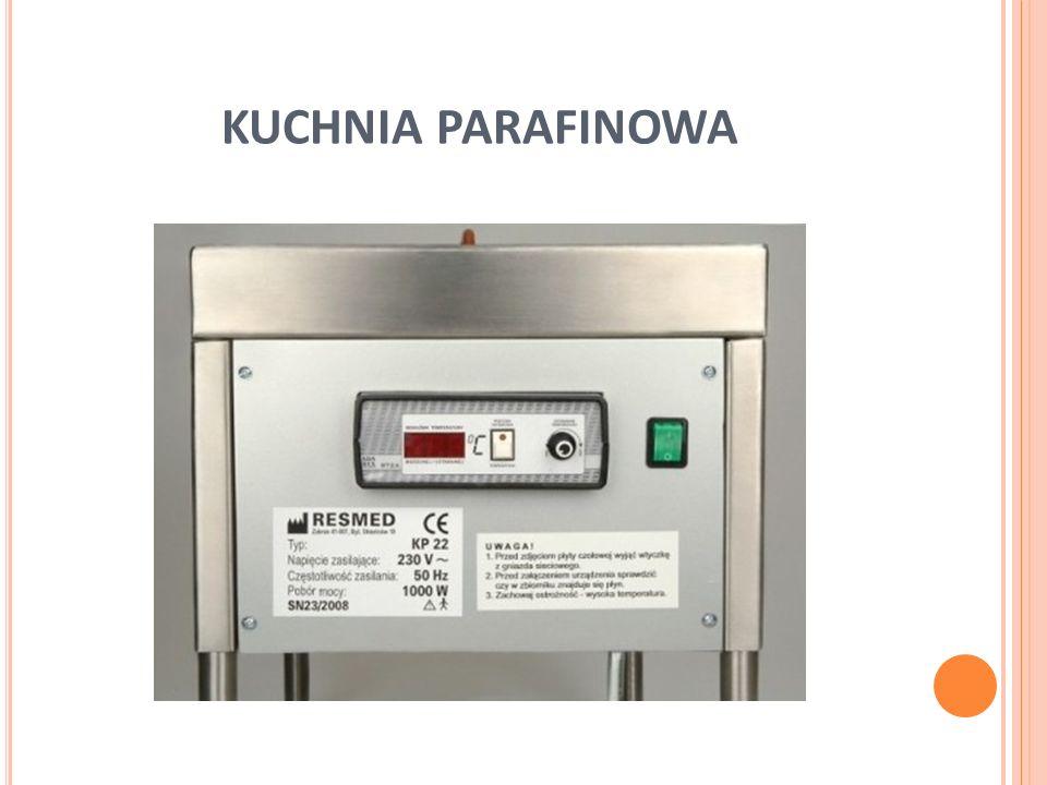 W ARUNKI BHP pomieszczenia powinny być wyposażone w sprzęt gaśniczy odpowiednia wentylacja pomieszczeń personel powinien być poddawany rotacji ze względu na toksyczność oparów parafinowych.