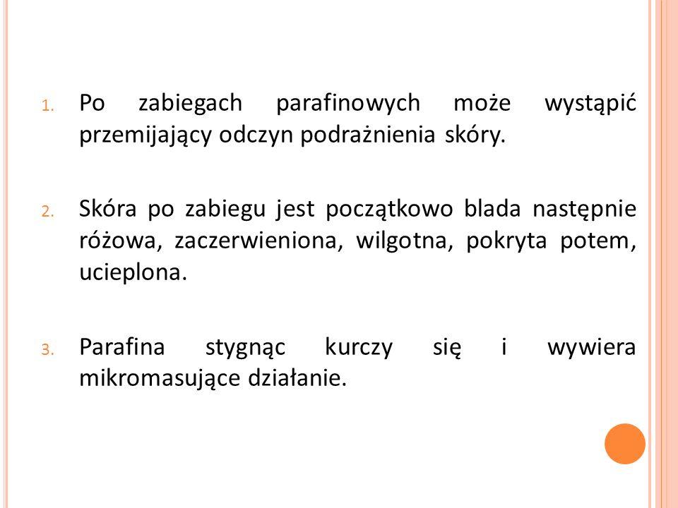 Okłady z parafango Jest to mieszanina fango i parafiny.