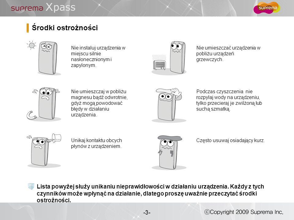 3 - -3- Lista powyżej służy unikaniu nieprawidłowości w działaniu urządzenia. Każdy z tych czynników może wpłynąć na działanie, dlatego proszę uważnie