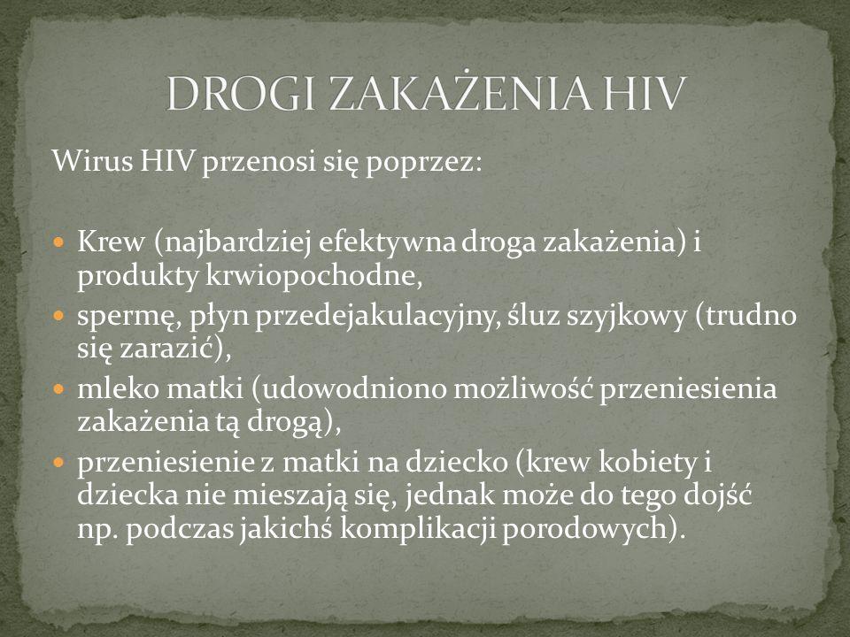 Światowy Dzień AIDS obchodzony jest co roku 1 grudnia.