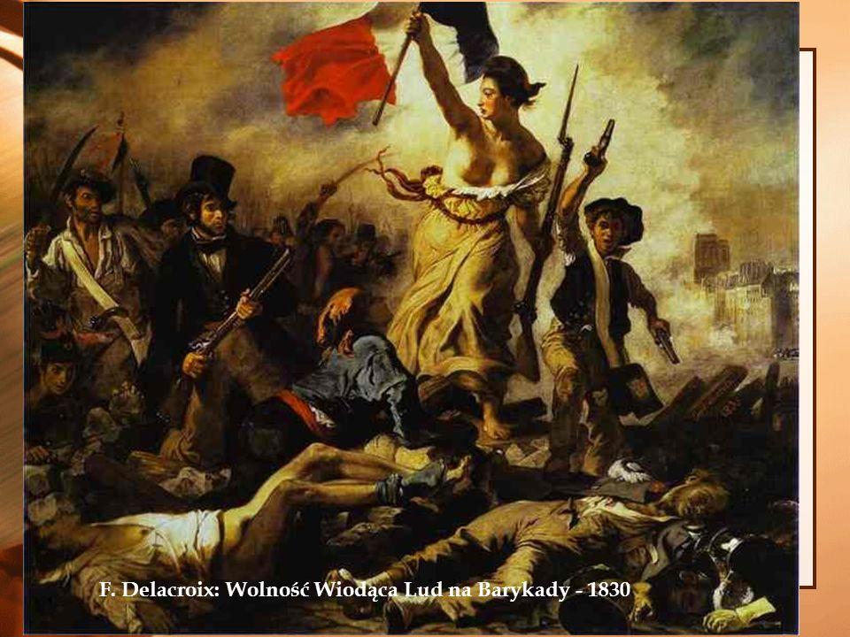 2014-01-04 F. Delacroix: Wolność Wiodąca Lud na Barykady - 1830
